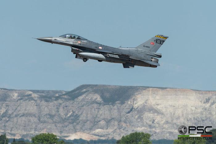 93-0003   F-16C-40-CF  4R-125  181 Filo © Piti Spotter Club Verona