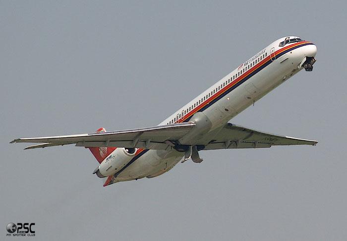 I-SMEV  MD-82  49669/1493  Meridiana  @ Aeroporto di Verona © Piti Spotter Club Verona