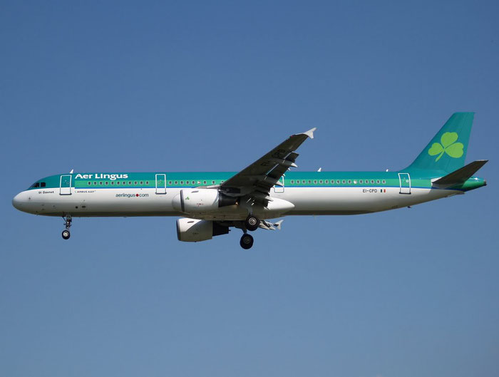 EI-CPD A321-211 841 Aer Lingus @ London Heathrow Airport 08.2007  © Piti Spotter Club Verona