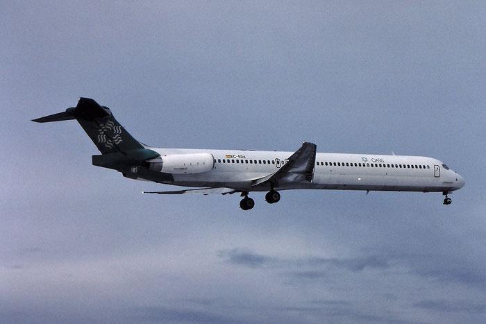 EC-524 MD-83 49628/1582 Oasis International Airlines @ Aeroporto di Verona © Piti Spotter Club Verona