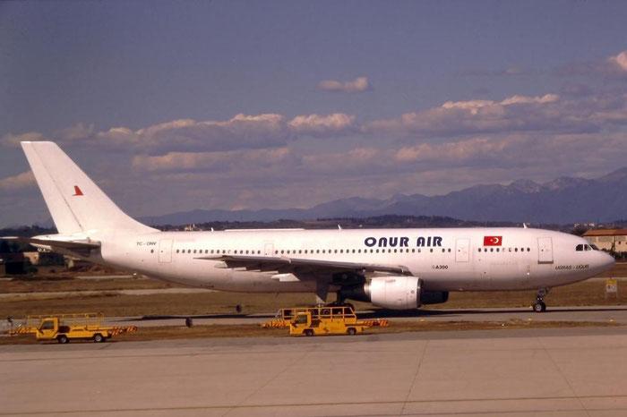 TC-ONV A300B4-2C 57 Onur Air @ Aeroporto di Verona © Piti Spotter Club Verona