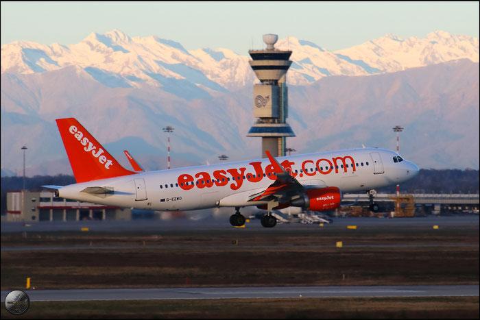 G-EZWO A320-214 5785 EasyJet Airline @ Milano Malpensa Airport 31.01.2015 © Piti Spotter Club Verona