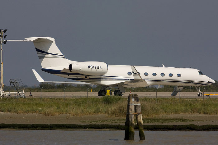 N917GA G550 5317 Hill Air Corp. @ Venezia Airport 16.06.2012 © Piti Spotter Club Verona