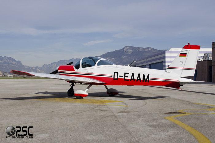 D-EAAM photos Aircraft: MBB Bo209 Monsun @ Aeroporto di Trento © Piti Spotter Club Verona