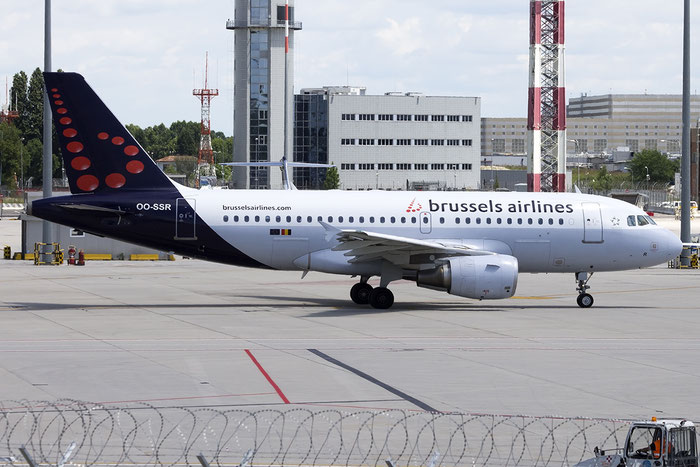 OO-SSR A319-112 4275 Brussels Airlines @ Venice Airport 21.06.2015 © Piti Spotter Club Verona
