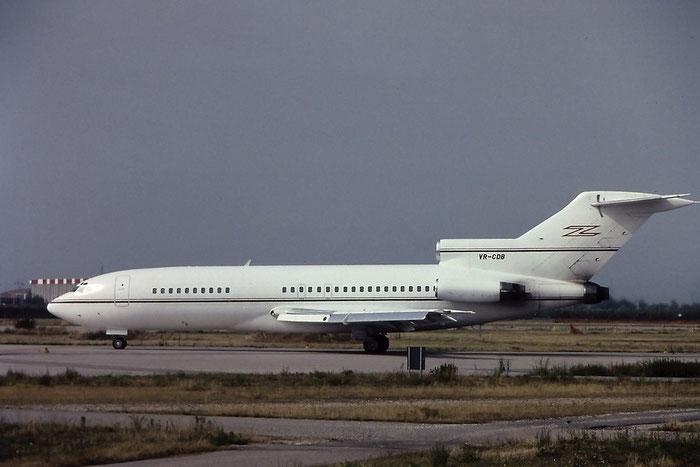VR-CDB  B727-89  19139/255  ASI - Air Services International  @ Aeroporto di Verona © Piti Spotter Club Verona