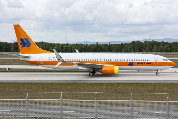 D-ATUF B737-8K5 34687/1907 TUIfly @ Frankfurt Airport 08.05.2015 © Piti Spotter Club Verona