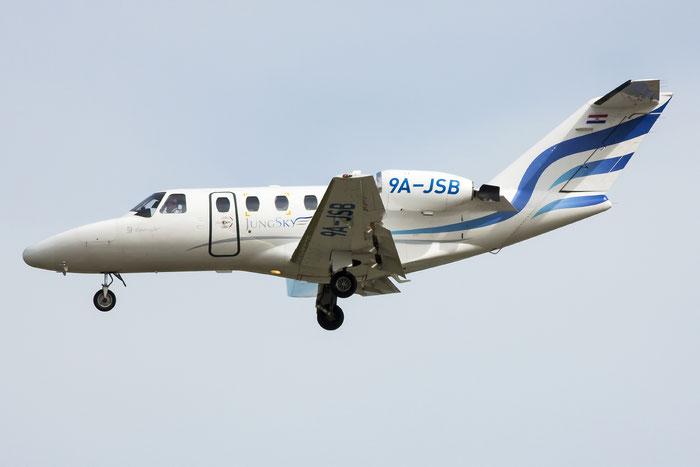 9A-JSB Ce525 525-0143 Jung Sky d.o.o. @ Venice Airport 02.06.2013 © Piti Spotter Club Verona