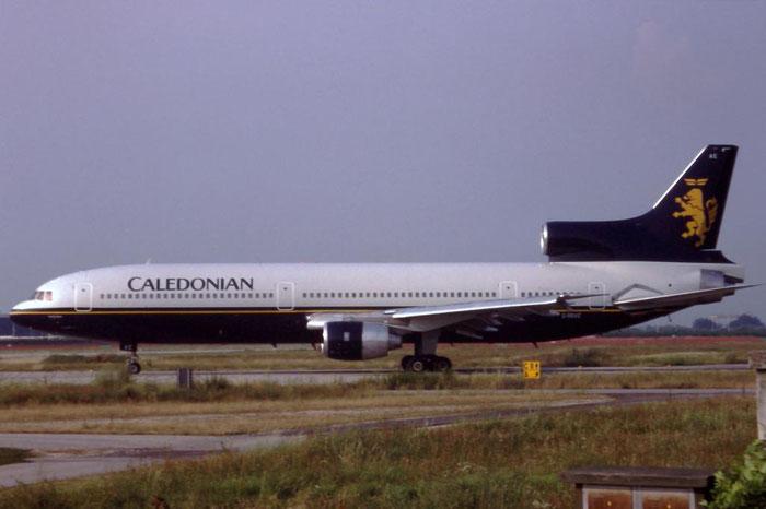 G-BBAE L-1011-100 193N-1083 Caledonian Airways @ Aeroporto di Verona © Piti Spotter Club Verona