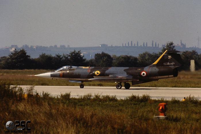 Gli F-104 del Terzo Stormo: 3-47 -  @ Aeroporto di Verona   © Piti Spotter Club Verona