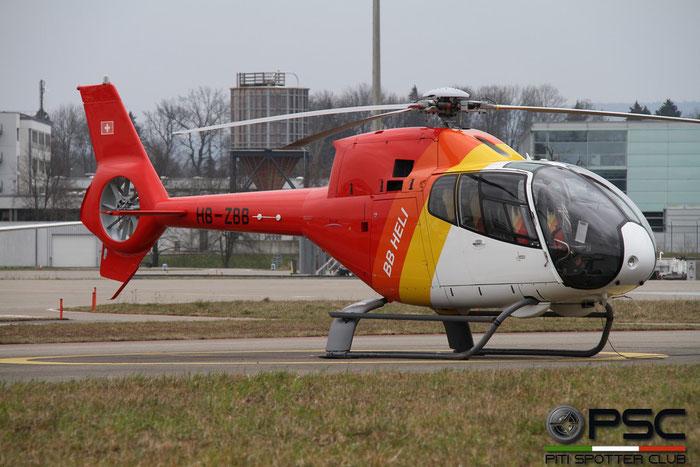 HB-ZBB Eurocopter EC-120B Colibri EC20 1067 BB Heli AG @ Zurich Airport 14.03.2016 © Piti Spotter Club Verona