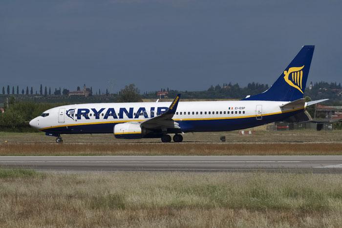 EI-ESP B737-8AS 34990/3789 Ryanair @ Aeroporto di Verona 09.08.2017  © Piti Spotter Club Verona