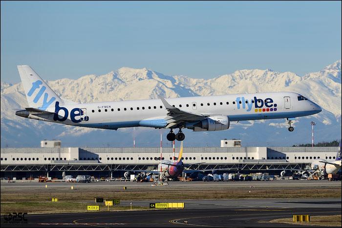 G-FBEN ERJ195LR 19000213 Flybe - British European  @ Milano Malpensa Airport 25.01.2014 © Piti Spotter Club Verona