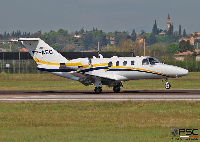 T7-AEC  Ce525  525-0371  Titanfly International S.R.L. @ Aeroporto di Verona 2021 © Piti Spotter Club Verona