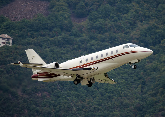 4X-CLL IAI1126 40 Memorand Management (1998) Ltd. - Gulfstream (IAI) 1126 Galaxy & G200/G280 @ Aeroporto di Bolzano © Piti Spotter Club Verona