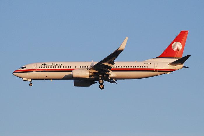 EI-FFW B737-85F 30477/976 Meridiana @ Milano Malpensa Airport 23.11.2014 © Piti Spotter Club Verona