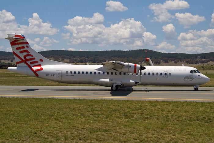 VH-FVI ATR72-212A 955 Virgin Australia Regional Airlines @ Canberra Airport 14.11.2011 © Piti Spotter Club Verona