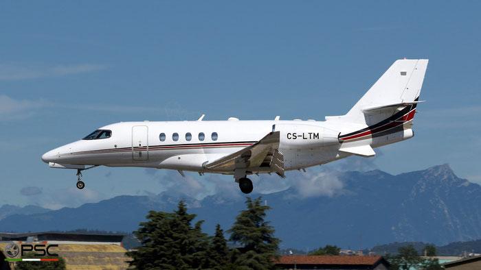 CS-LTM  Ce680A  680A-0211  NetJets Europe @ Aeroporto di Verona 08.2021 © Piti Spotter Club Verona