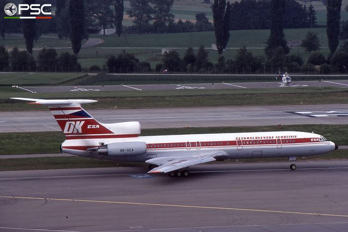 OK-SCA 87A765 Tu-154M OK-SCA CSA © 2018 courtesy of Marco Ceschi - Piti Spotter Club Verona