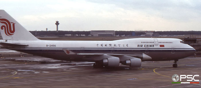 B-2456 B747-4J6 24346/743 Air China © 2018 courtesy of Marco Ceschi - Piti Spotter Club Verona