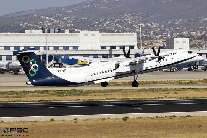 SX-OBF  DHC-8-402  4318  Olympic Air  @ Athens 2019 © Piti Spotter Club Verona