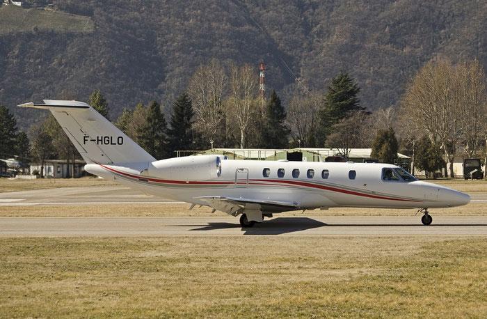 F-HGLO Ce525C (CJ4) 525C-0114 Polygone Sa @ Aeroporto di Bolzano © Piti Spotter Club Verona