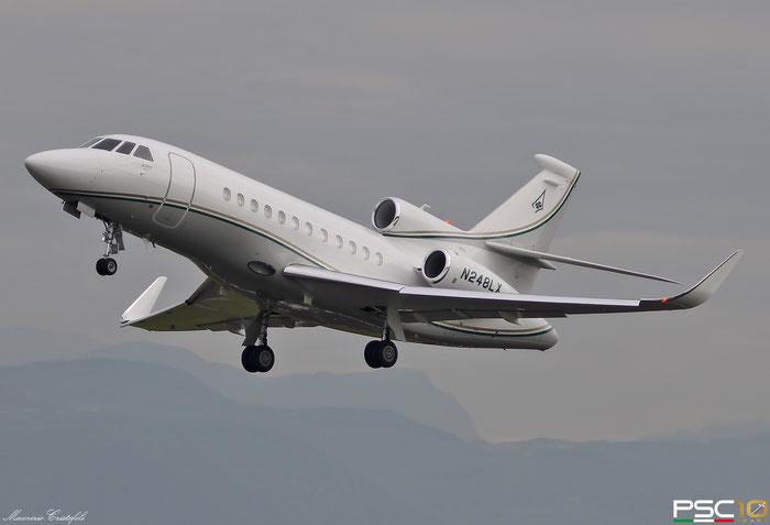 N248LX Falcon 900LX 248 Watsco Holdings Inc. @ Aeroporto di Verona 06.2019  © Piti Spotter Club Verona