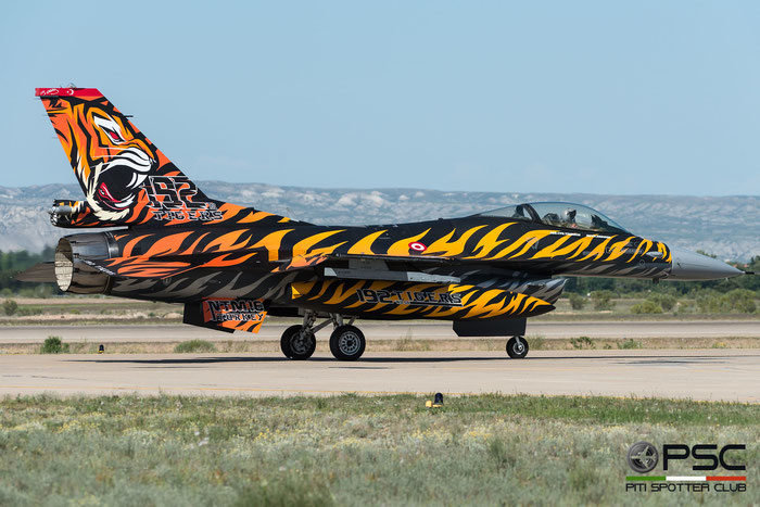 92-0014   F-16C-40-CF  4R-115  192 Filo © Piti Spotter Club Verona