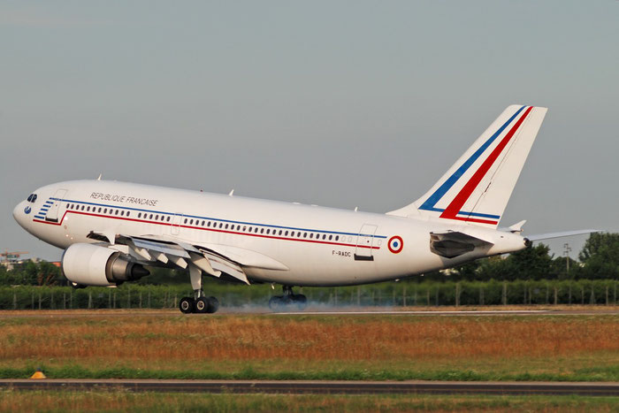 F-RADC  A310-304  418  Armée de l'Air - French Air Force  © Piti Spotter Club Verona