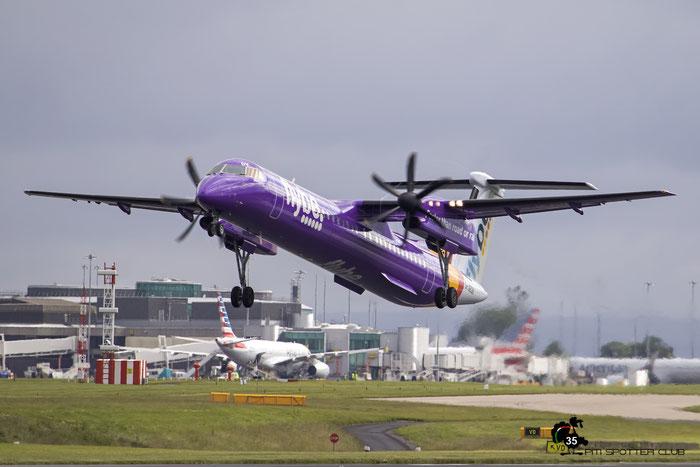 G-JEDV DHC-8-402 4090 Flybe - British European @ Manchester Airport 21.06.2015  © Piti Spotter Club Verona