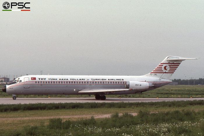 TC-JAL DC-9-32 47534/644 Turkish Airlines - THY Türk Hava Yollari © 2018 courtesy of Marco Ceschi - Piti Spotter Club Verona