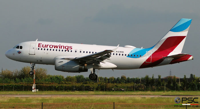D-AGWB A319-132 2833 Eurowings @ Aeroporto di Verona 09.2019  © Piti Spotter Club Verona