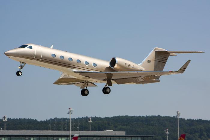 N721BS G400 1516 Golden Gaming Inc. @ Zurich Airport 20.07.2013 © Piti Spotter Club Verona