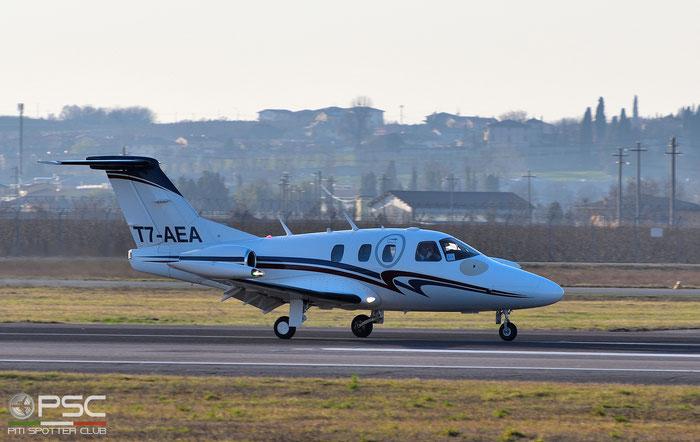 T7-AEA Eclipse 500 000226 Air Eclipse Int. SRL @ Aeroporto di Verona 03.2019  © Piti Spotter Club Verona