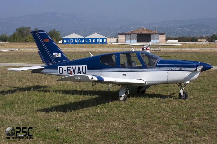 D-EVAU SOCATA TB-20 Trinidad TB20 1569 @ Aeroporto Verona Boscomantico © Piti Spotter Club Verona