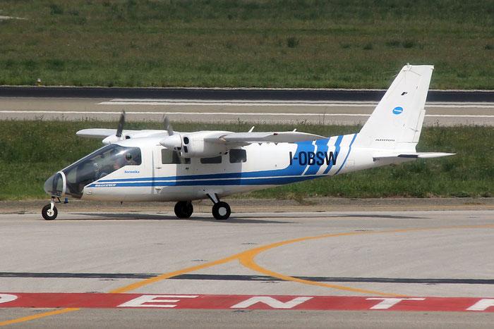 I-OBSW Partenavia P68 Observer (c/n 331-21-OB) @ Bologna Airport 03.09.2014 © Piti Spotter Club Verona