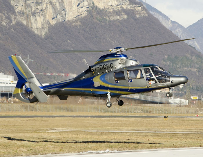 I-DCEC - Eurocopter AS-365N-3 Dauphin 2 - F.lli De Cecco spa @ Aeroporto di Trento © Piti Spotter Club Verona