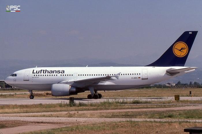 D-AIDC A310-304 485 Lufthansa © 2017 courtesy of Marco Ceschi - Piti Spotter Club Verona