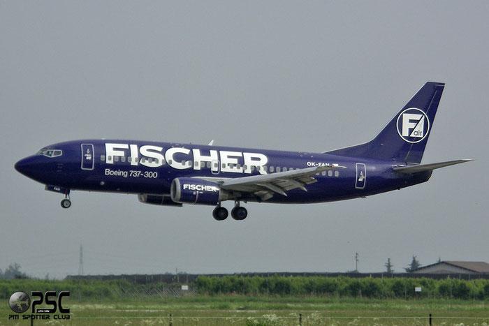OK-FAN  B737-33A  27469/2864  Fischer Air  @ Aeroporto di Verona © Piti Spotter Club Verona