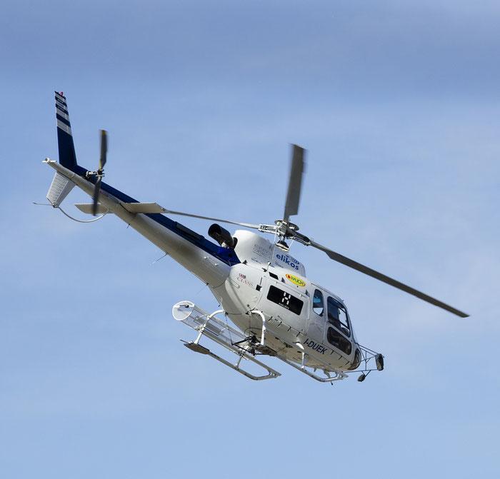I-DUEK - Aérospatiale AS 350B3 Ecureuil - Elikos @ Aeroporto di Bolzano © Piti Spotter Club Verona