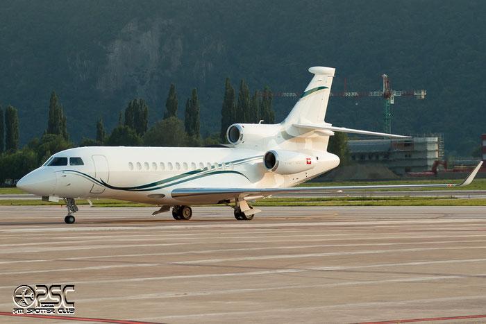 HB-JSN Falcon 7X 76 Dasnair SA @ Aeroporto di Bolzano © Piti Spotter Club Verona