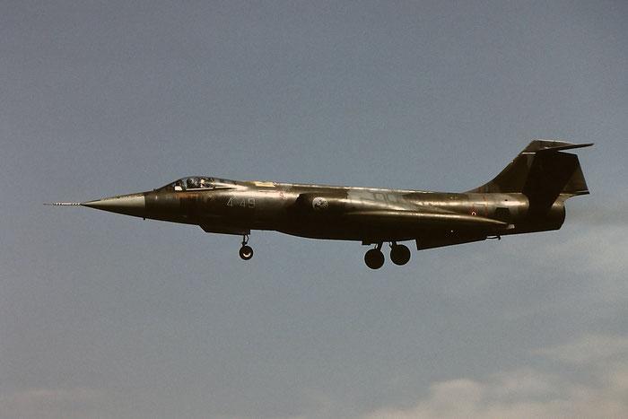 MM6589  4-49  F-104G  6589 © Piti Spotter Club Verona