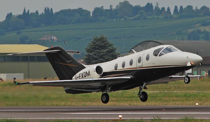 G-FXDM Beech 400XT RK-377 Flexjet Ltd. @ Aeroporto di Verona 01.09.2018  © Piti Spotter Club Verona