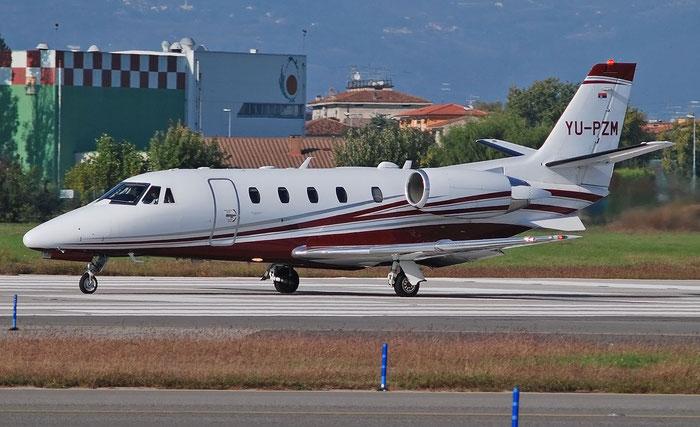 YU-PZM  Ce560XLS+  560-6226  Air Pink  @ Aeroporto di Verona 11.2020  © Piti Spotter Club Verona