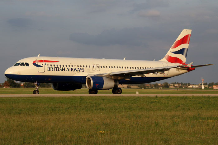 G-MIDY A320-232 1014 British Airways @ Bologna Airport 24.08.2014 © Piti Spotter Club Verona