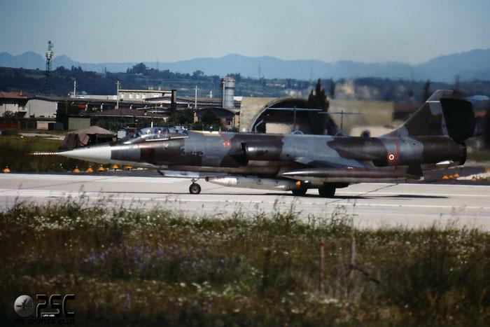Gli F-104 del Terzo Stormo: 3-43 -  @ Aeroporto di Verona   © Piti Spotter Club Verona