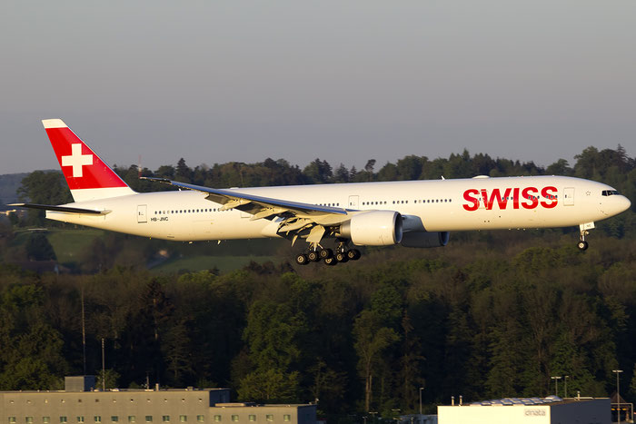 HB-JNC B777-3DEER 44584/1391 Swiss Global Air Lines @ Zurich Airport 05.2016 © Piti Spotter Club Verona