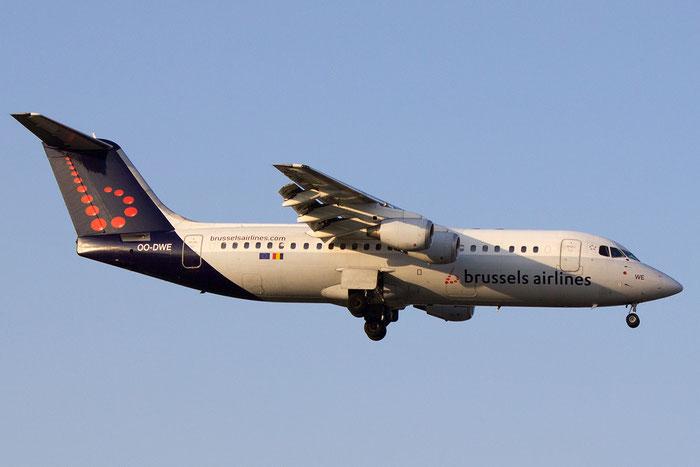 OO-DWE BAe146-RJ100 E3327 Brussels Airlines @ Bologna 14.03.2014 © Piti Spotter Club Verona