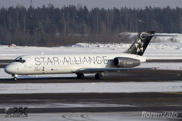 OH-BLP B717-23S 55064/5037 Blue1 @ Helsinki Airport 2011 © Piti Spotter Club Verona