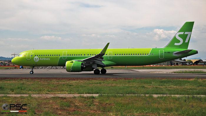 VQ-BDI A321-271N 8103 S7 Airlines @ Aeroporto di Verona 04.2019  © Piti Spotter Club Verona